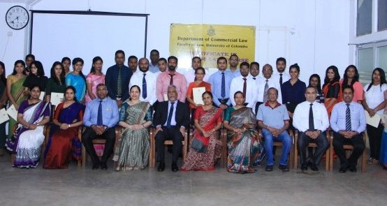 Award Ceremony of Certificate Course in Business Law