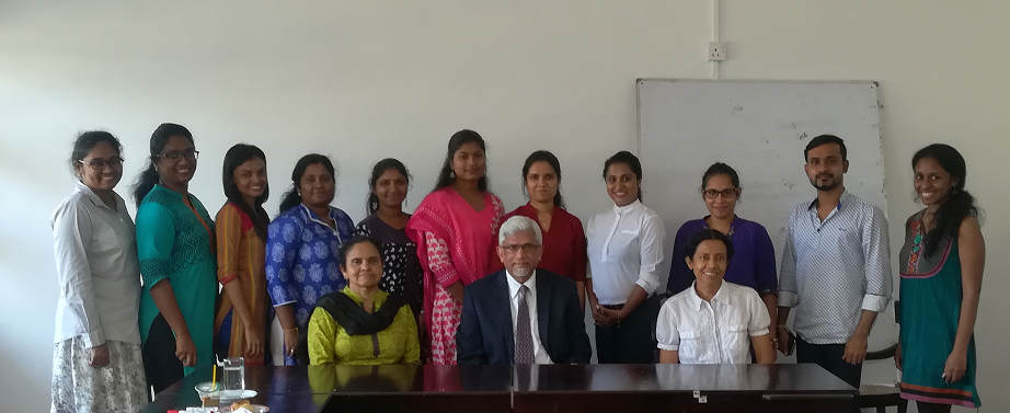 Guest Lecture by Professor Srilal M. Perera