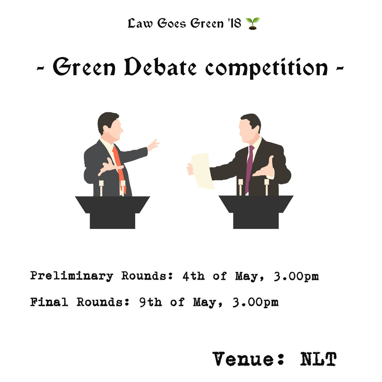 The Green Debate Competition