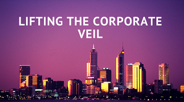 """Guest Lecture on """"Emerging Issues in the Law of Lifting of Corporate Veil"""""""
