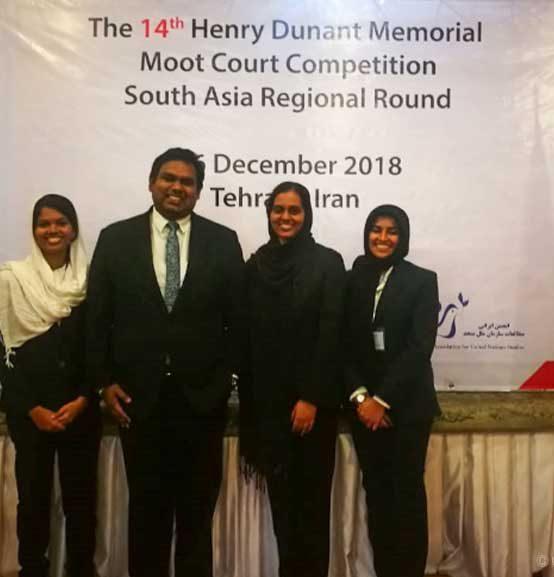 Henry Dunant Memorial Moot (Regional Rounds) 2018