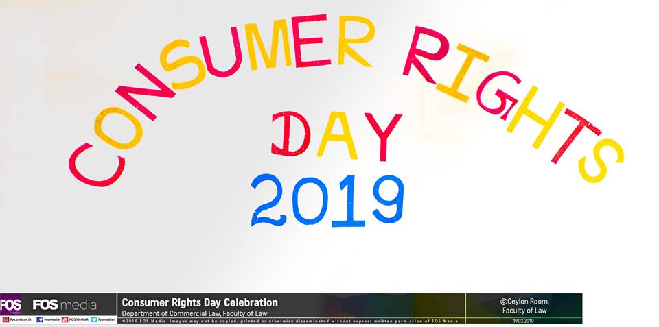Consumer Rights Day 2019