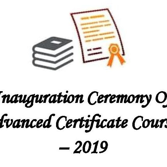 Inauguration Ceremony of ACC – 2019