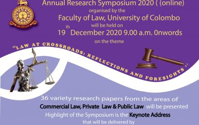 Annual Research Symposium – 2020