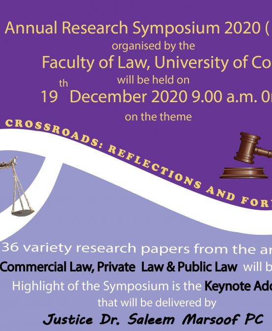 Annual Research Symposium – 2020