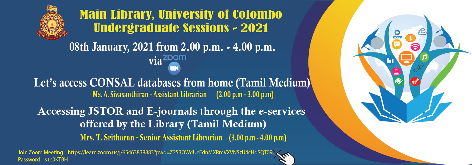 Webinar Series for undergraduates 2 – (Tamil Medium)